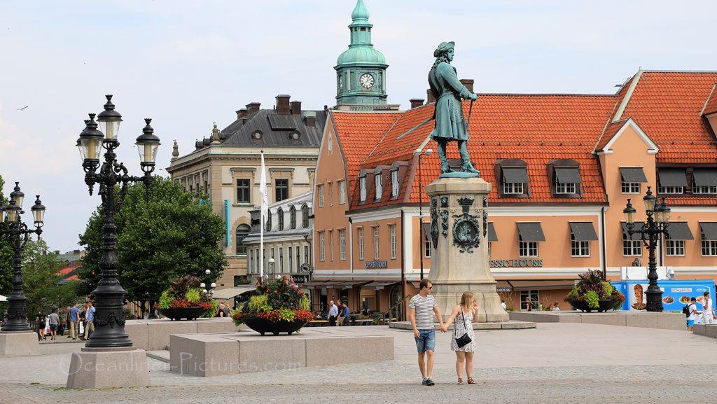In der Altstadt von Karlskrona auf dem Stortorget / Foto: Oliver Asmussen/oceanliner-pictures.com