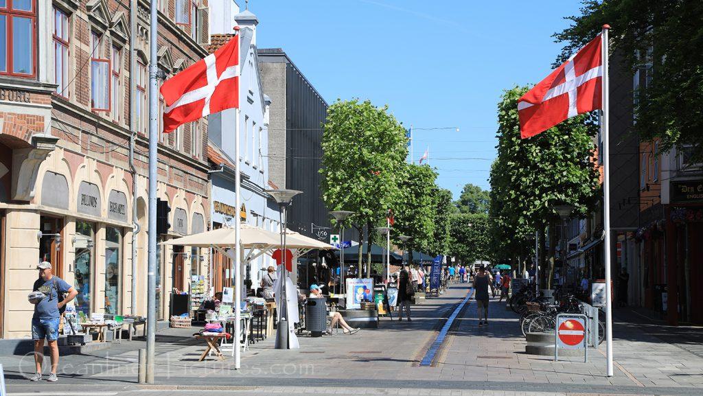Innenstadt von Fredericia / Foto: Oliver Asmussen/oceanliner-pictures.com