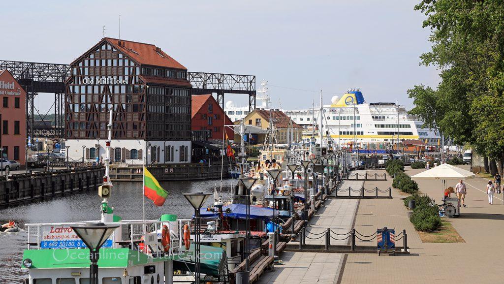 Klaipeda historischer Hafen / Foto: Oliver Asmussen/oceanliner-pictures.com