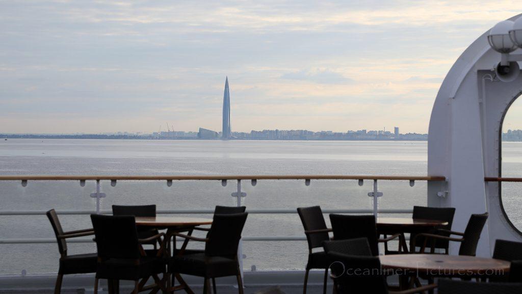 Lakhta Center 462m St. Petersburg / Foto: Oliver Asmussen/oceanliner-pictures.com