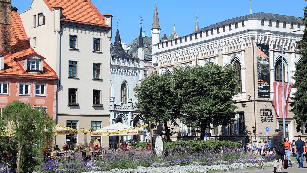 Livu Square Altstadt Riga / Foto: Oliver Asmussen/oceanliner-pictures.com