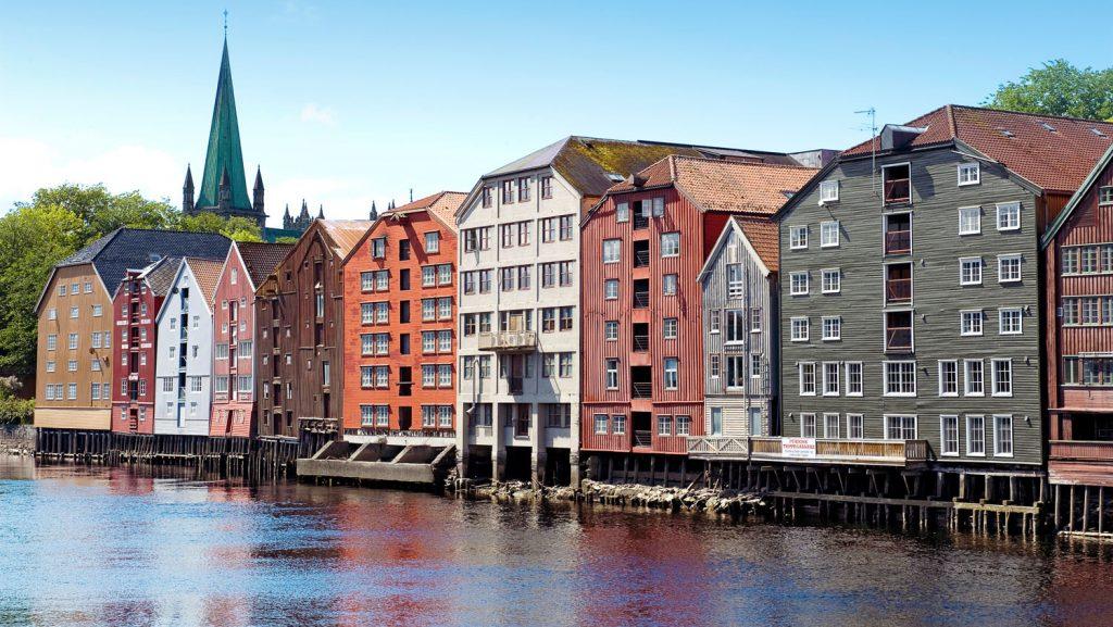 Ziele wie Trondheim in Norwegen werden angefahren. Foto: MSC Kreuzfahrten