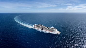Die MSC Grandiosa startet im kommenden Jahr. Foto: MSC Kreuzfahrten