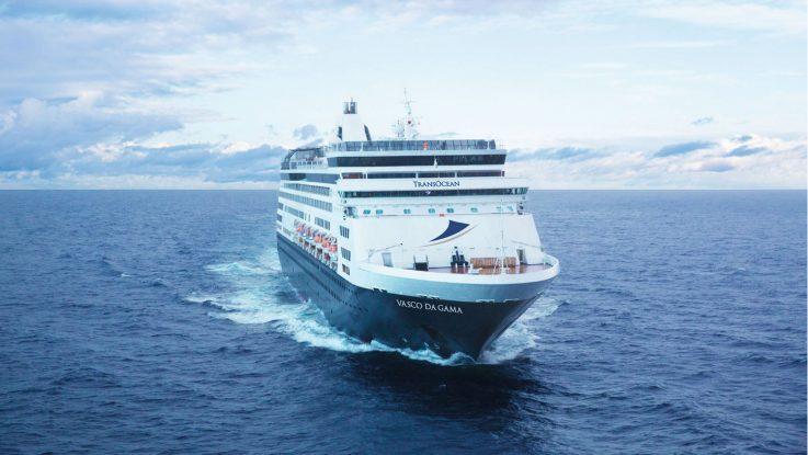Der Neuzugang Vaso da Gama. Foto: TransOcean Kreuzfahrten