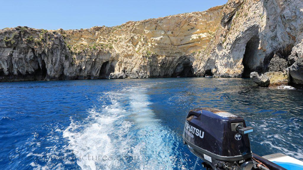 Malta Blaue Grotte Bootsfahrt / Foto: Oliver Asmussen/oceanliner-pictures.com