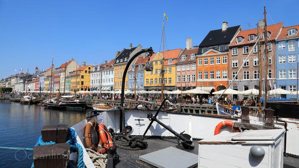 Nyhavn Kopenhagen mit Fischerbooten / Foto: Oliver Asmussen/oceanliner-pictures.com