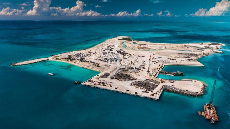 Ocean Cay MSC Marine Reserve. Foto: MSC Kreuzfahrten/Conrad Schutt
