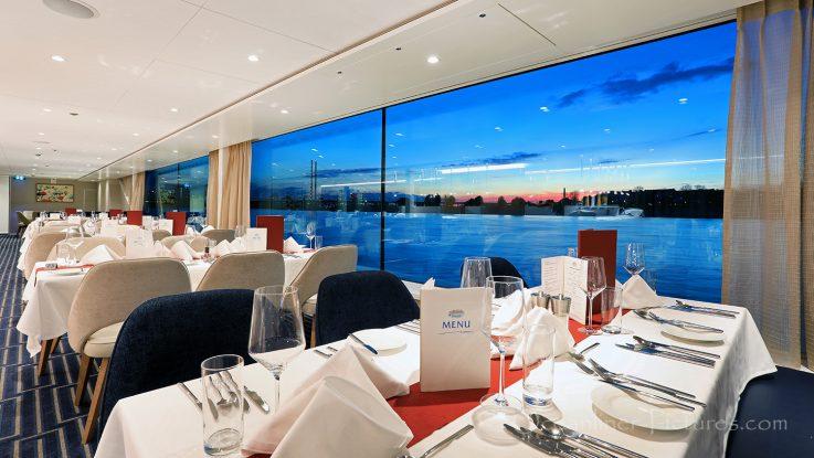 Panorama-Restaurant MS Vista Star / Foto: Oliver Asmussen/oceanliner-pictures.com