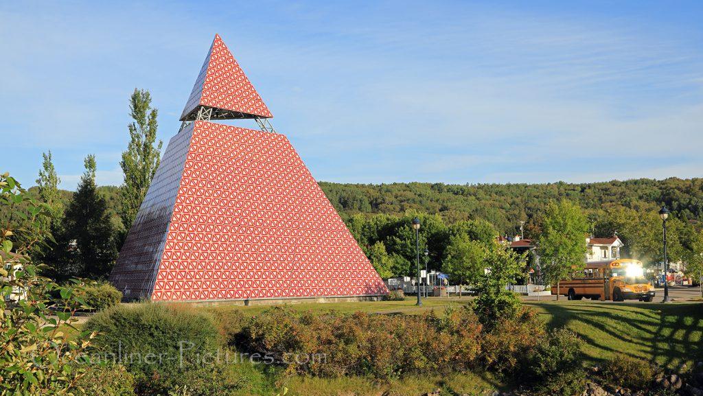 Pyramide des Ha Ha, La Baie, Quebec, Canada / Foto: Oliver Asmussen/oceanliner-pictures.com