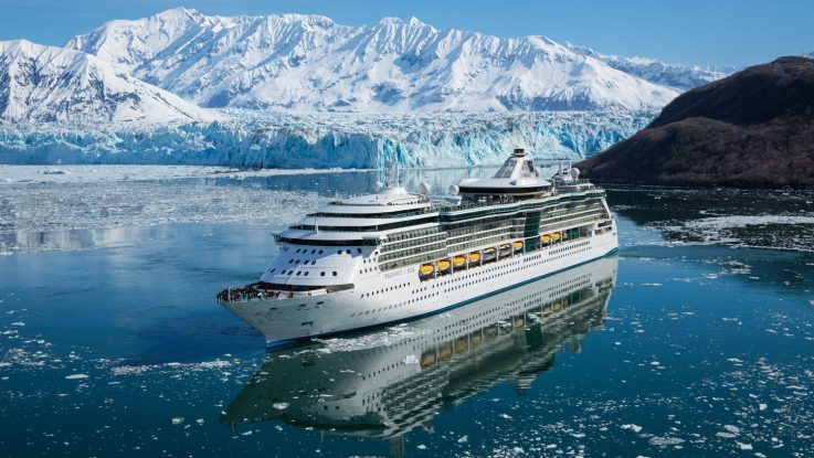 Radiance of the Seas in Alaska. Foto: Royal Caribbean/Christina-Maria Weigand