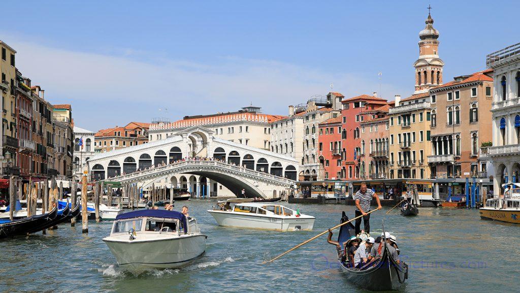 Rialtobrücke und Canal Grande in Venedig / Foto: Oliver Asmussen/oceanliner-pictures.com