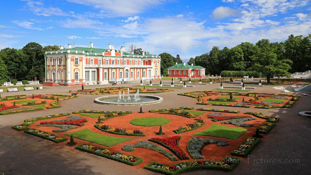 Schloss Katharinental und Schlossgarten in Tallinn / Foto: Oliver Asmussen/oceanliner-pictures.com