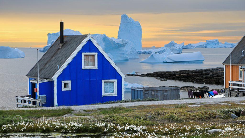 Sommer in Qeqertarsuaq, Grönland / Foto: Oliver Asmussen/oceanliner-pictures.com