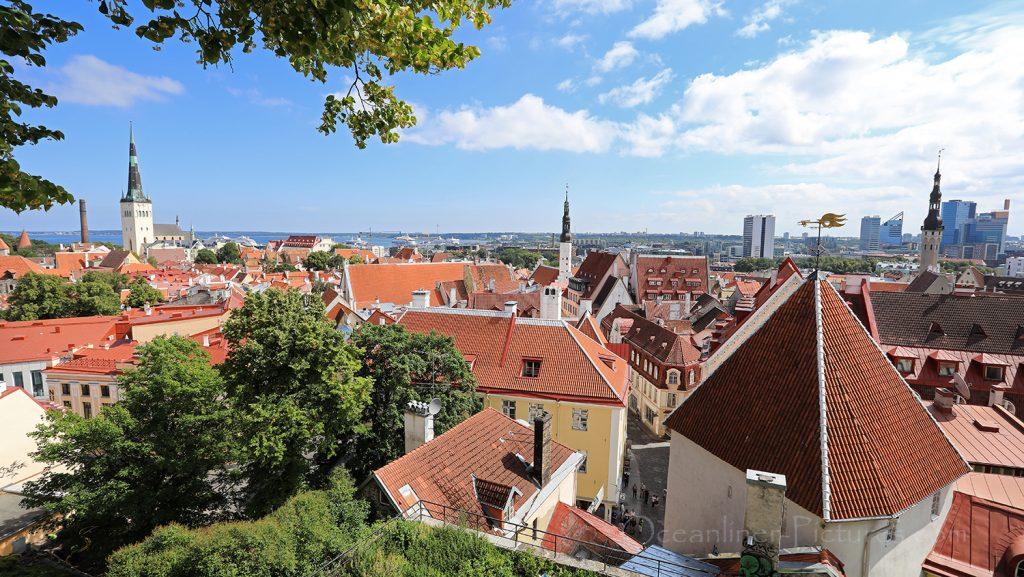 Tallinn Blick über die Altstadt / Foto: Oliver Asmussen/oceanliner-pictures.com