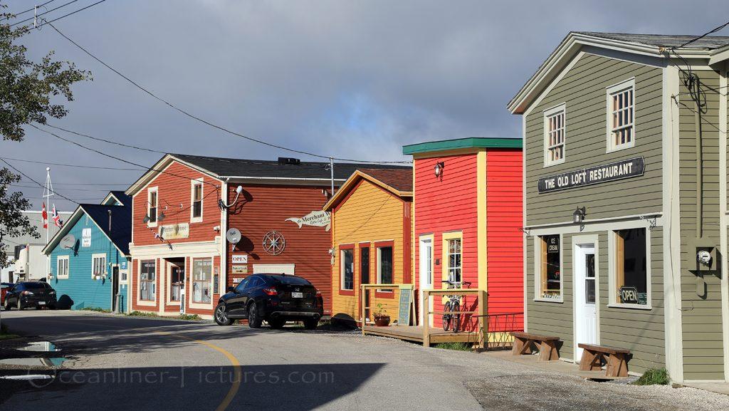 Uferstrasse in Woody Point, Newfoundland, Kanada / Foto: Oliver Asmussen/oceanliner-pictures.com