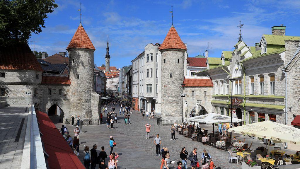 Viru Gate Altstadt von Tallinn / Foto: Oliver Asmussen/oceanliner-pictures.com