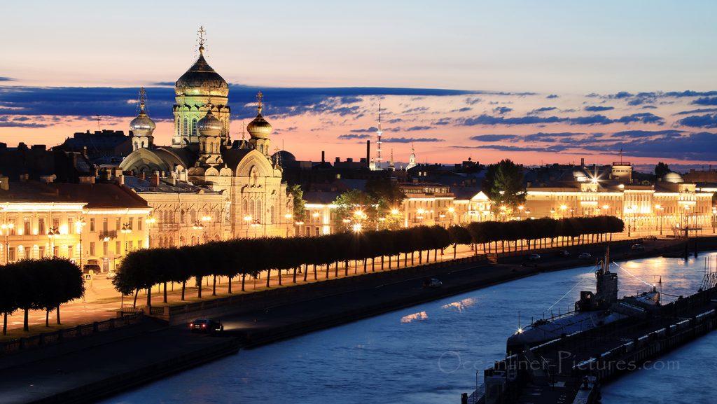 Weisse Nacht St. Petersburg / Foto: Oliver Asmussen/oceanliner-pictures.com