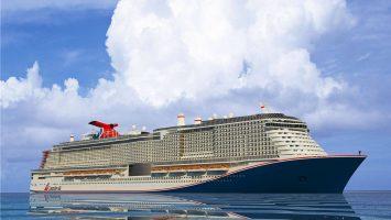 Das erste LNG Schiff von Carnival. Foto: Carnival
