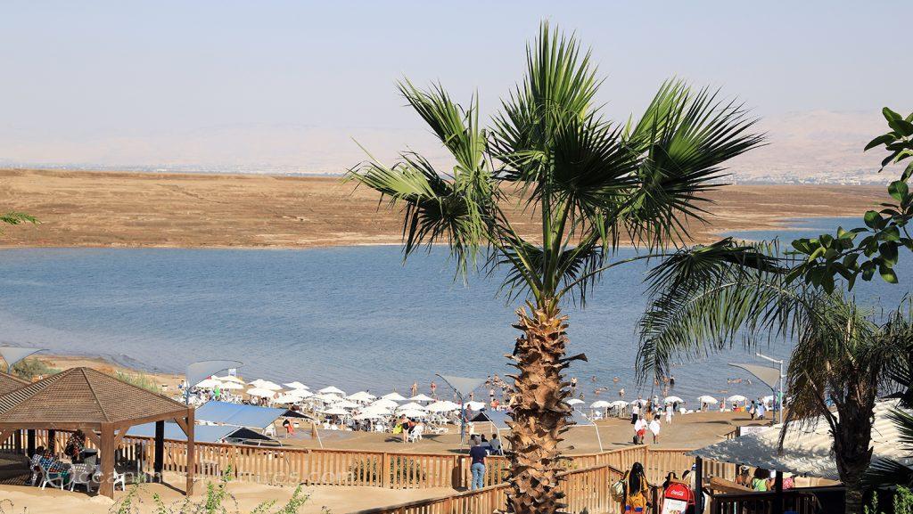 Blick auf das Tote Meer am Kalia Beach, Israel / Foto: Oliver Asmussen/oceanliner-pictures.com