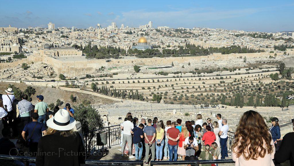 Blick vom Mount of Olives in Richtung Jerusalem, Israel / Foto: Oliver Asmussen/oceanliner-pictures.com