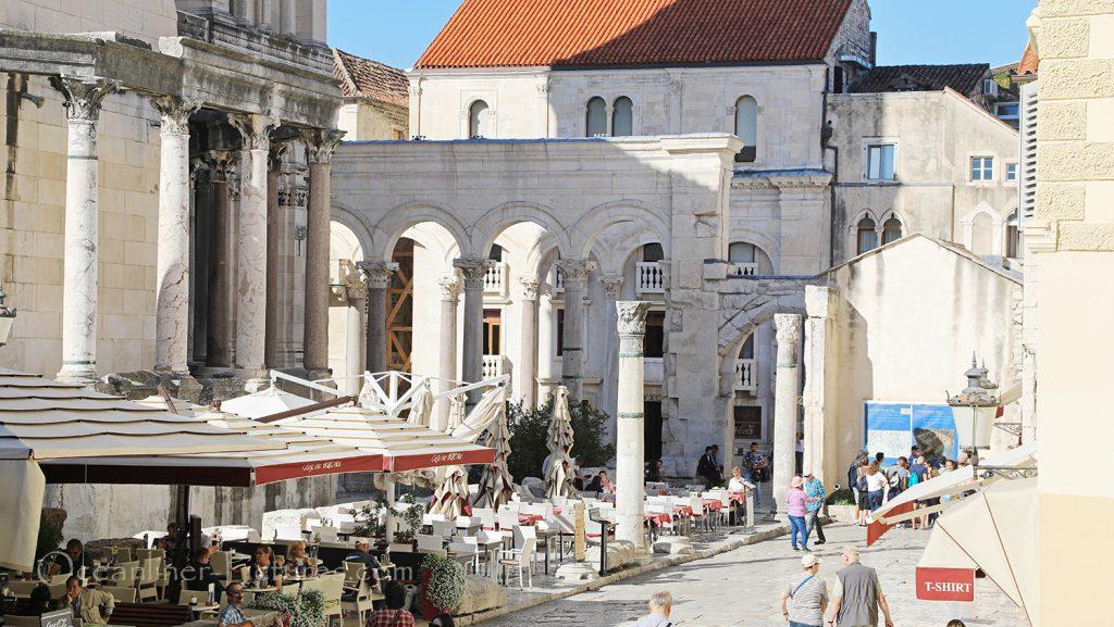 Der historische Unesco-Stadtkern in Split, Kroatien / Foto: Oliver Asmussen/oceanliner-pictures.com