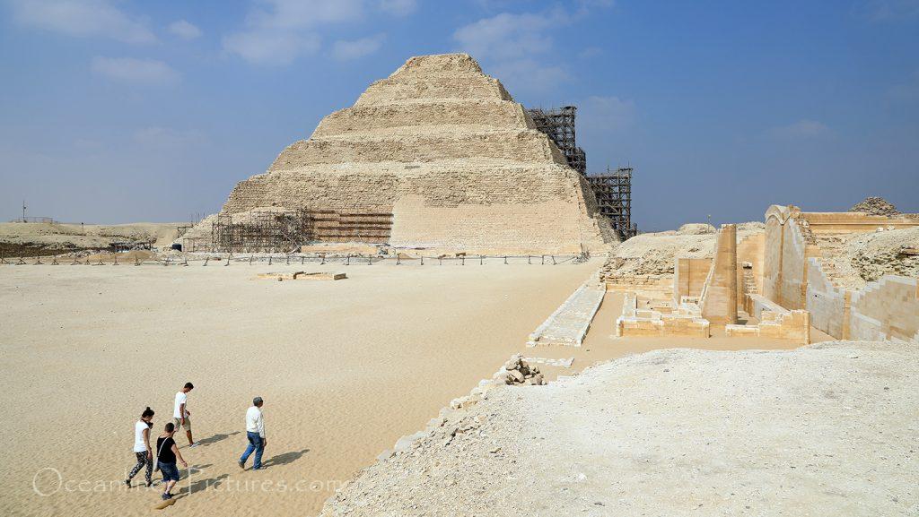 Djoser-Stufen-Pyramide, Sakkara, Ägypten / Foto: Oliver Asmussen/oceanliner-pictures.com