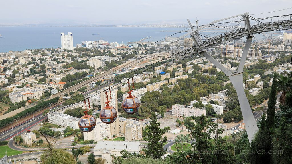 Haifa Cable Car / Foto: Oliver Asmussen/oceanliner-pictures.com
