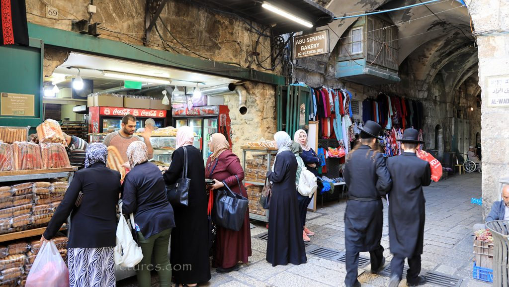 In den Gassen der Altstadt von Jerusalem, Israel / Foto: Oliver Asmussen/oceanliner-pictures.com
