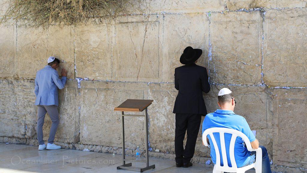 Jerusalem Western Wall Klagemauer, Israel / Foto: Oliver Asmussen/oceanliner-pictures.com