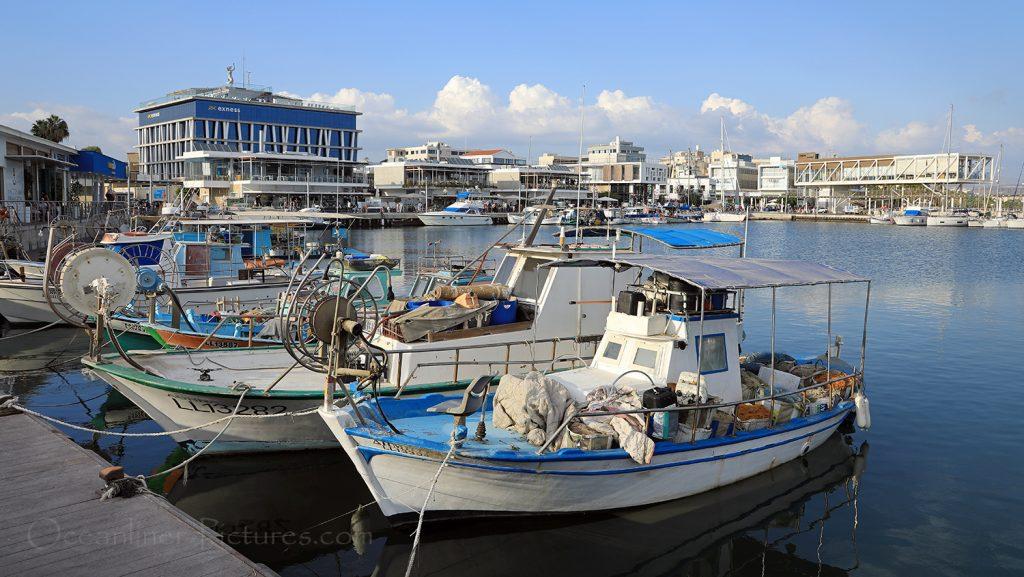 Limassol Uferpromenade mit Yachthafen / Foto: Oliver Asmussen/oceanliner-pictures.com