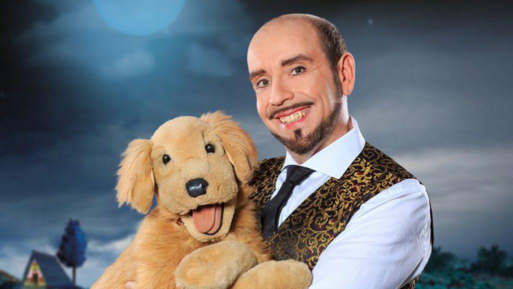 Marcus Geuss mit Hund