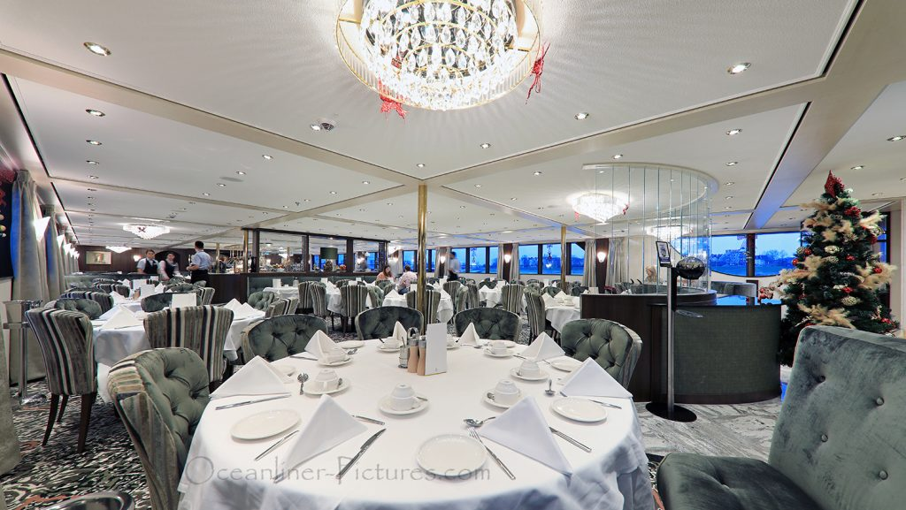 Panorama-Restaurant MS William Wordsworth / Foto: Oliver Asmussen/oceanliner-pictures.com
