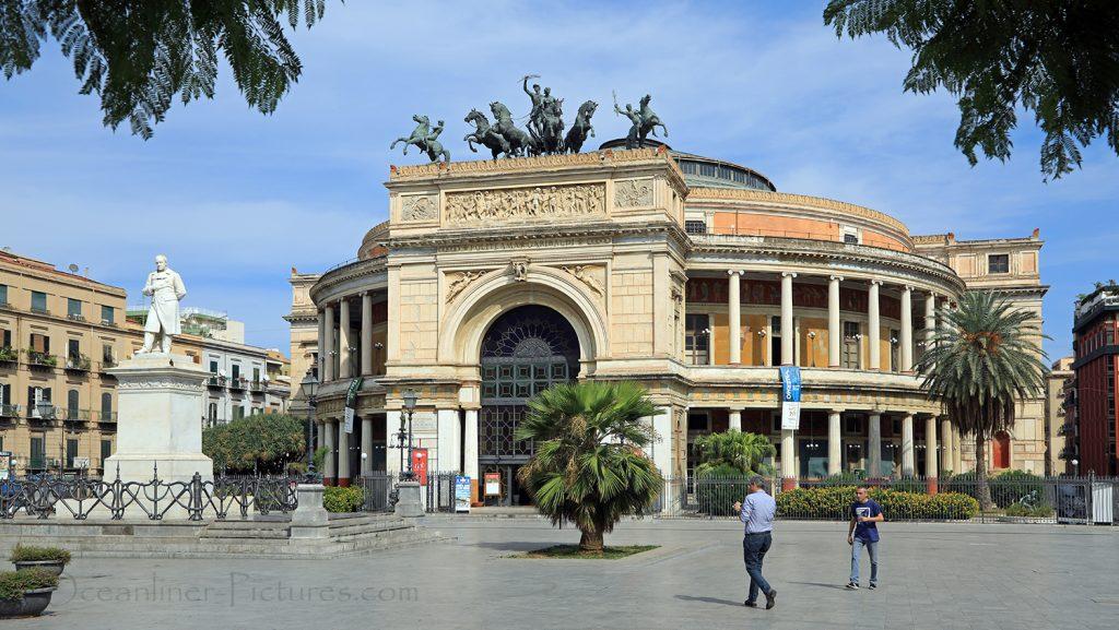 Teatro Politeama Palermo / Foto: Oliver Asmussen/oceanliner-pictures.com
