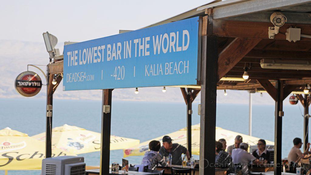 Tiefste Bar der Welt am Toten Meer in Israel / Foto: Oliver Asmussen/oceanliner-pictures.com