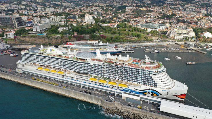AIDAnova Funchal Madeira / Foto: Oliver Asmussen/oceanliner-pictures.com