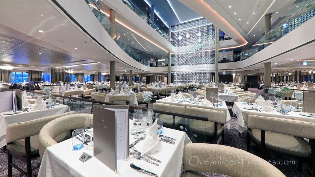 Atlantik Restaurant Klassik neue Mein Schiff 2 / Foto: Oliver Asmussen/oceanliner-pictures.com