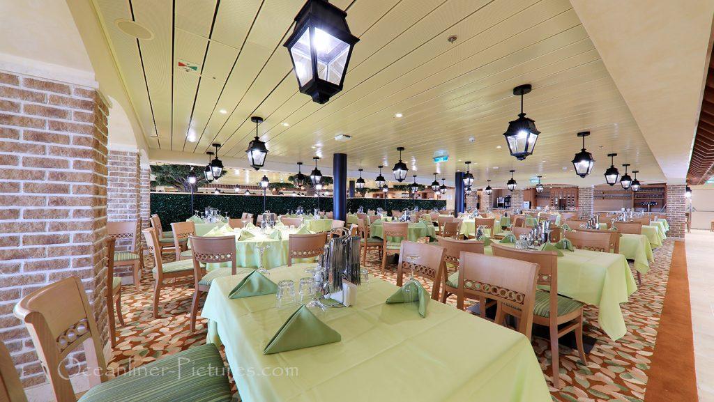 Bella Donna Restaurant AIDAnova / Foto: Oliver Asmussen/oceanliner-pictures.com