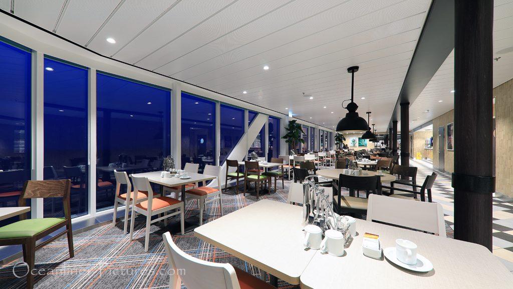 Buffetrestaurant Anckelmannsplatz neue Mein Schiff 2 / Foto: Oliver Asmussen/oceanliner-pictures.com