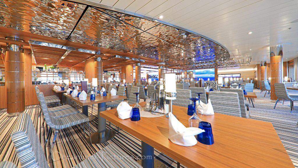 Das Yachtclub Restaurant AIDAnova / Foto: Oliver Asmussen/oceanliner-pictures.com