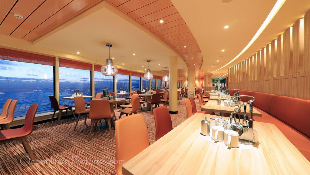Fuego Restaurant AIDAnova / Foto: Oliver Asmussen/oceanliner-pictures.com