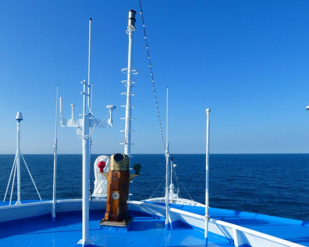 Ocean Majesty im Ärmelkanal