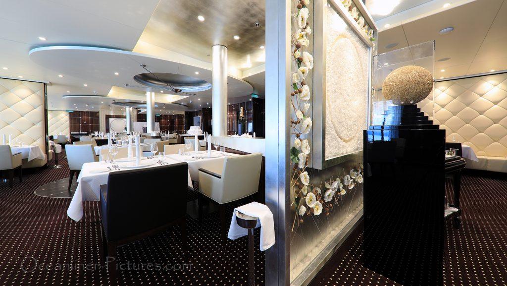 Rossini Restaurant AIDAnova / Foto: Oliver Asmussen/oceanliner-pictures.com