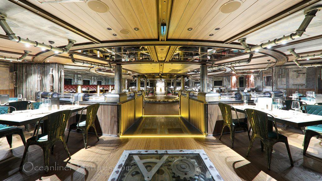 Time Machine Restaurant AIDAnova / Foto: Oliver Asmussen/oceanliner-pictures.com