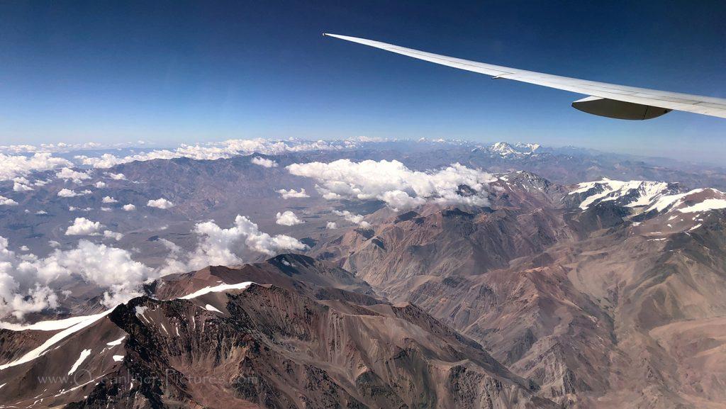 Überflug der Anden mit 777-300ER / Foto: Oliver Asmussen/oceanliner-pictures.com