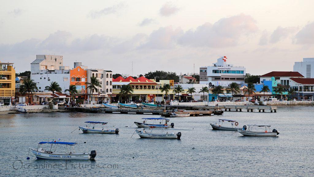 Abendstimmung in Cozumel / Foto: Oliver Asmussen/oceanliner-pictures.com