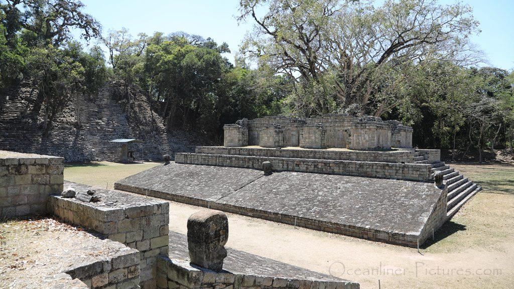 Ballspielplatz Maya-Stadt Copan, Honduras / Foto: Oliver Asmussen/oceanliner-pictures.com