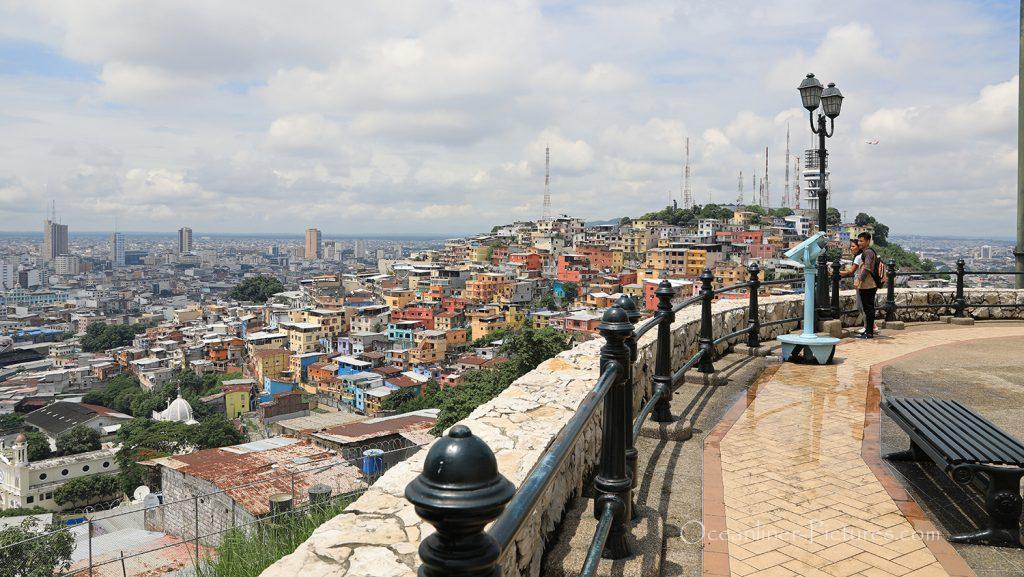 Blick über Guayaquil, Ecuador / Foto: Oliver Asmussen/oceanliner-pictures.com