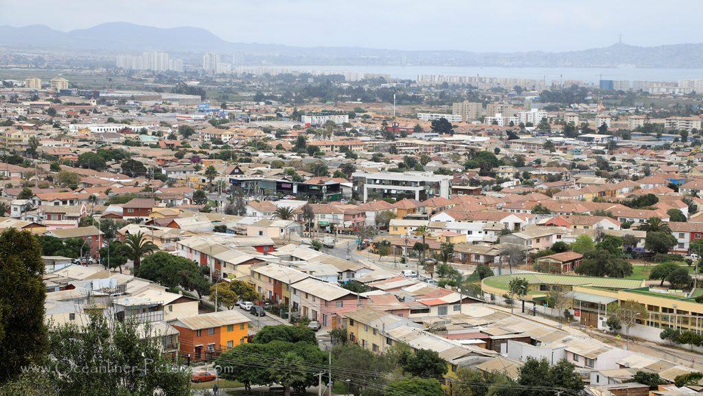 Blick auf La Serena Chile / Foto: Oliver Asmussen/oceanliner-pictures.com