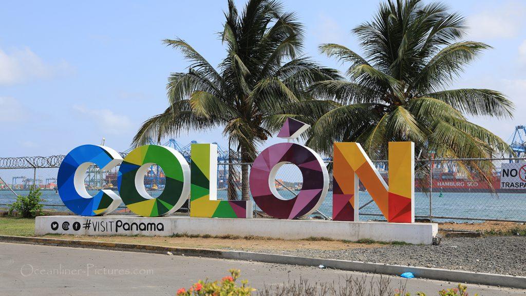 Hafen von Colon, Panama / Foto: Oliver Asmussen/oceanliner-pictures.com