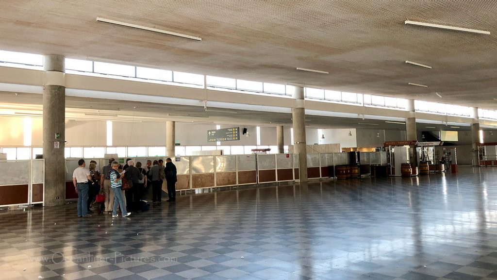 Hafenterminal in Valparaiso, Chile / Foto: Oliver Asmussen/oceanliner-pictures.com